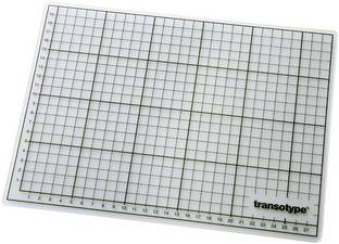 transotype Schneidematte 60 x 45 cm (A2) transparent selbstheilend