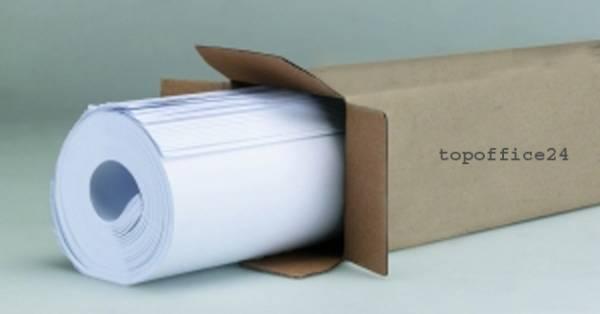 100 Blatt Flipchart-Papier - 5 Blöcke zu je 20 Blatt kariert/blanko