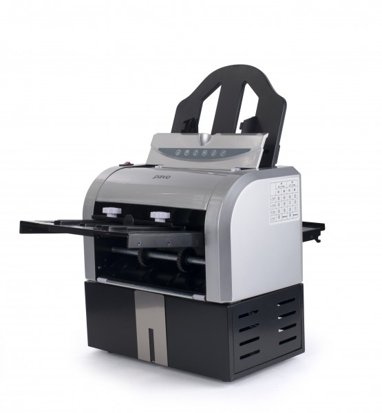 Pavo Falzmaschine mit 4 Falzarten für Formate bis DIN A4