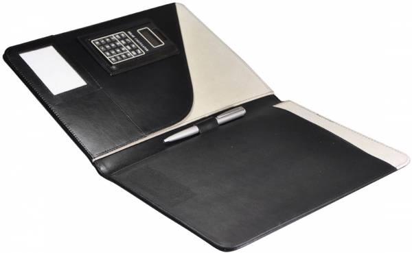 Monolith 2925 Schreibmappe Konferenzmappe A4 mit Taschenrechner