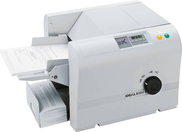 Ideal 8324 Büro-Falzmaschine DIN A4 für 4 Falzarten