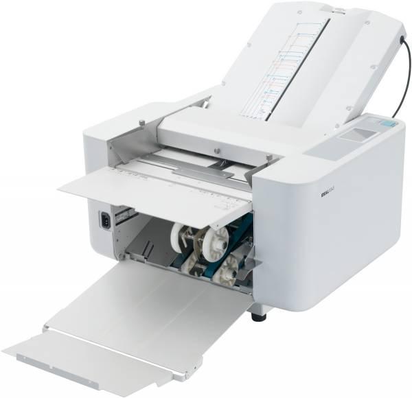 Falzmaschine Ideal 8345 für Formate bis DIN A3 in 6 verschiedenen Falzarten