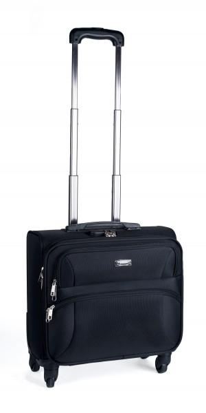 Pavo Pilotenkoffer mit Trolleysystem und Laptopfach 15,4 Zoll