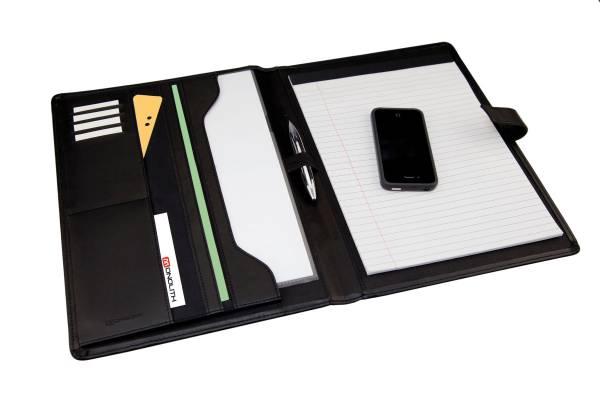 Monolith 2900 Schreibmappe Konferenzmappe DIN A4 mit Block