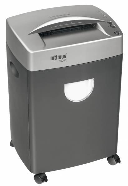 Intimus 3000 S Aktenvernichter 4 mm Streifenschnitt 20 Blatt Schneidleistung