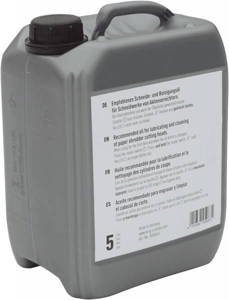 IDEAL Spezialöl für Aktenvernichter 5 Liter im Kanister