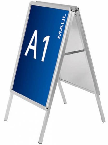 Maul Kundenstopper public - Format DIN A1, aluminium