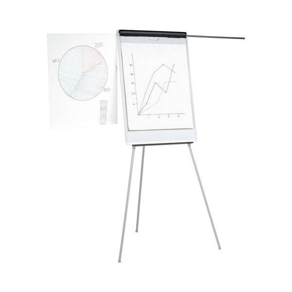Flipchart Flip Chart master mit Dreibein und Bildhaltern