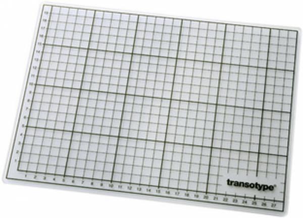 transotype Schneidematte 60 x 90 cm A1 transparent selbstheilend