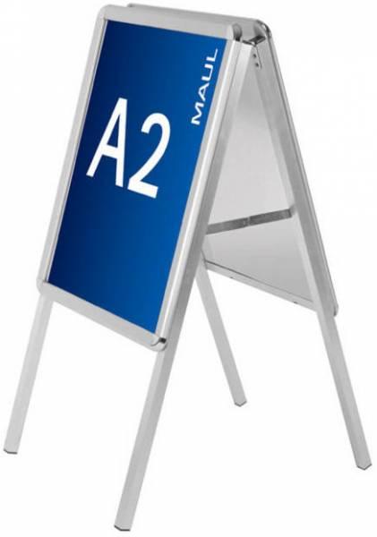 Maul Kundenstopper public - Format DIN A2, aluminium