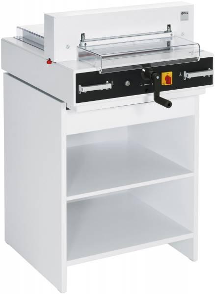 Ideal 4350 elektrischer Stapelschneider 400 Blatt, 430 mm incl. Unterschrank