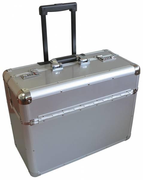 Monolith 2302 Aktenkoffer aus Aluminium mit Trolleysystem
