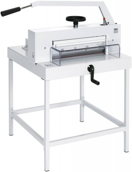 Stapelschneidemaschine IDEAL 4705 mit Untergestell