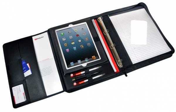 Monolith 2828P Konferenzmappe A4 Tablet-Mappe mit Taschenrechner