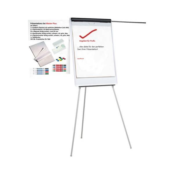 Flipchart Flip Chart Master mit Profi-Ausstattung