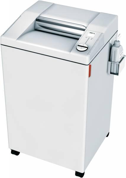 Ideal 3104 CC Büro-Aktenvernichter Cross Cut 2 x 15 mm mit automatischem Öler