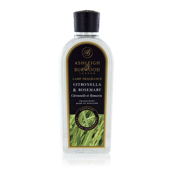 Raumduft Duftessenz Citronella & Rosemary für katalytische Duftlampen von Ashleigh & Burwood 500 ml