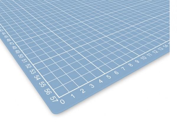 selbstheilende Schneidematte 30 x 45 cm transparent mit Raster
